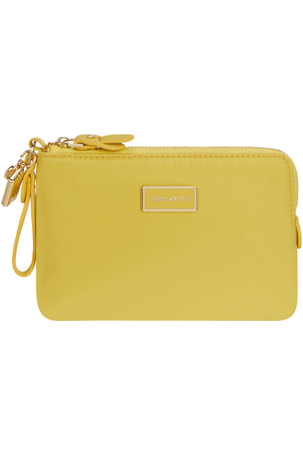 Samsonite Karissa 2.0 Slg Flat Pouch 3CC  Golden Yellow