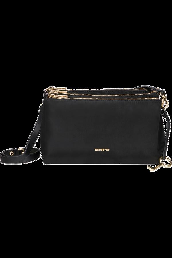 Samsonite Skyler Pro Horizontal Shoulder Bag 3 Comp S  Negro