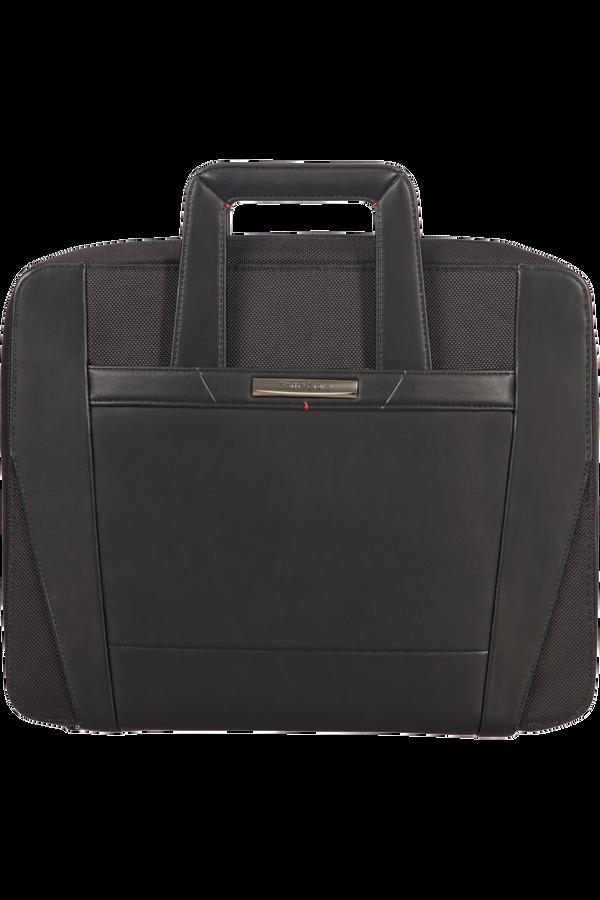Samsonite Stationery Pro-Dlx 5 Zip Folder A4 Ret H+Det B  Negro