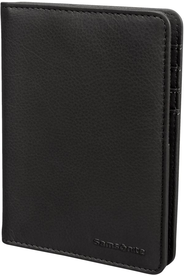 Samsonite Global Ta ID Leather Passport Cover  Negro