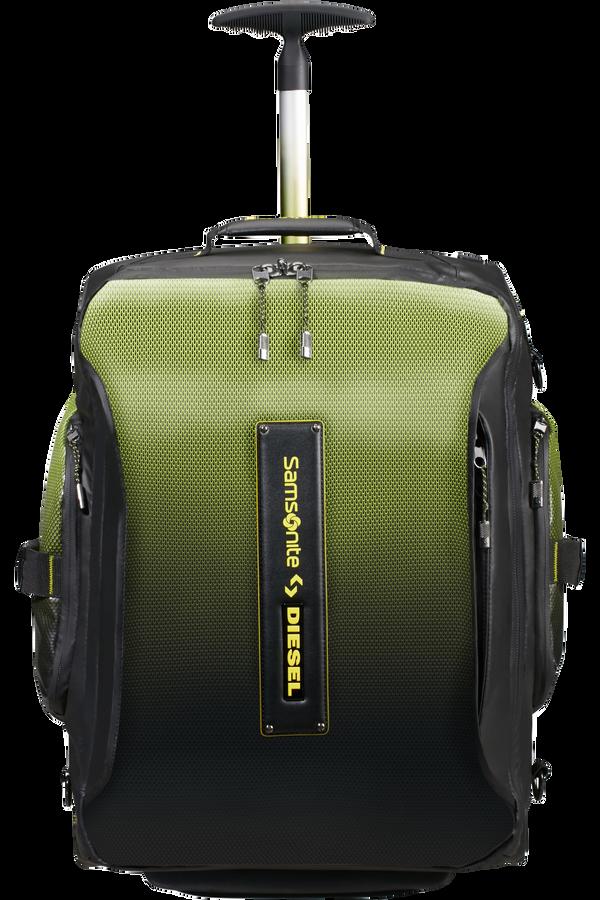 Samsonite Paradiver X Diesel Duffle with Wheels Backpack 55cm  Black/Yellow