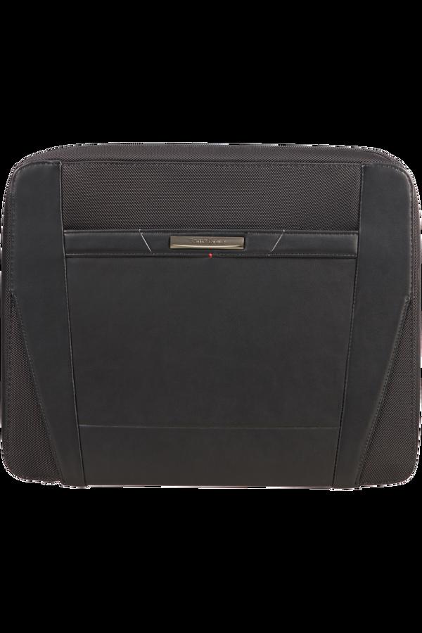Samsonite Stationery Pro-Dlx 5 Zip Folder A4 Det B  Negro