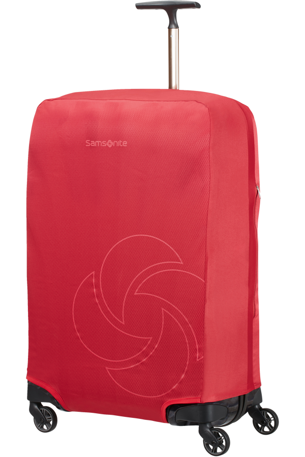 Samsonite Global Ta Foldable Luggage Cover M Rojo