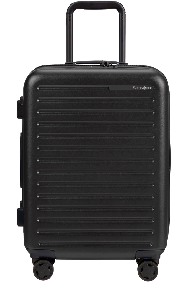 Samsonite Stackd Spinner Expandable 55cm  Negro