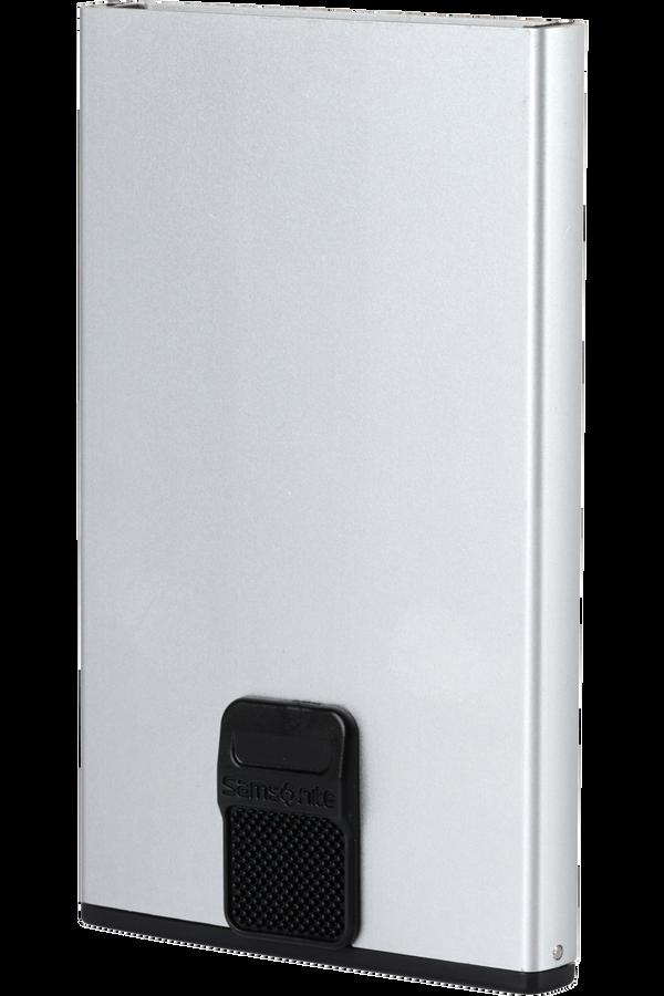 Samsonite Alu Fit 201 - Slide-up Case  Aluminium