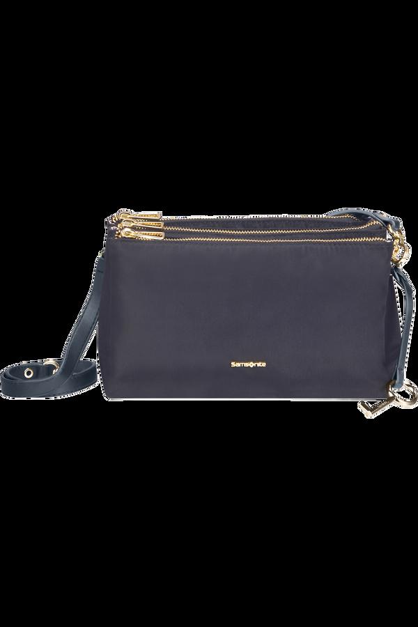 Samsonite Skyler Pro Horizontal Shoulder Bag 3 Comp S  Blue Depth