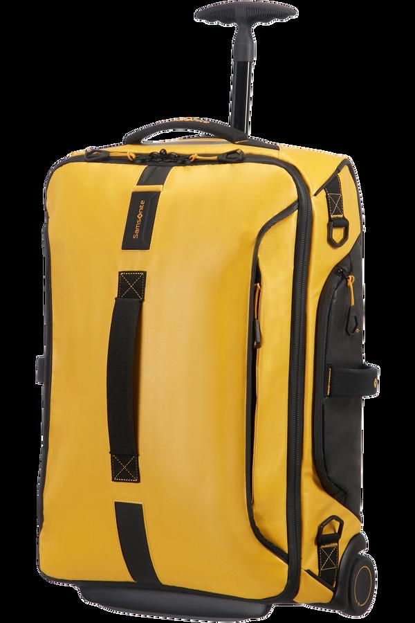 Samsonite Paradiver Light Bolsa de viaje con ruedas 55cm Amarillo