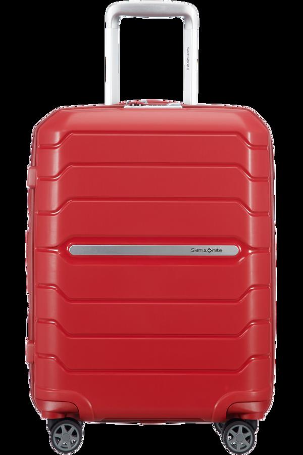 Samsonite Flux Spinner Expandable 55cm  Rojo