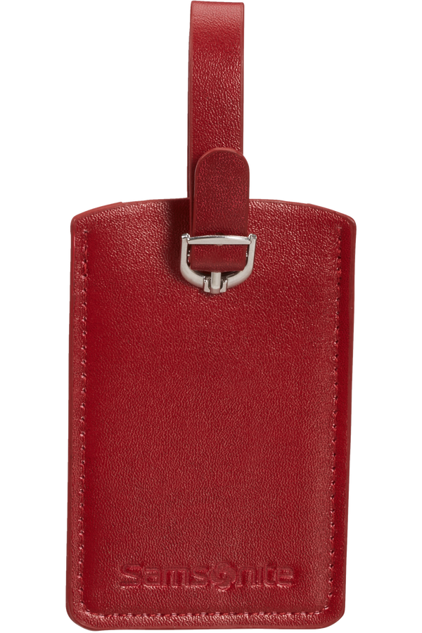 Samsonite Global Ta Rectangle Luggage Tag x2 Rojo