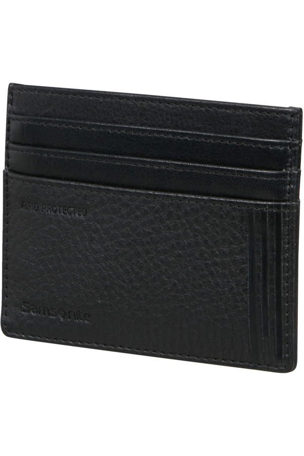 Samsonite Double Leather Slg 732 - 6CC H S  Negro