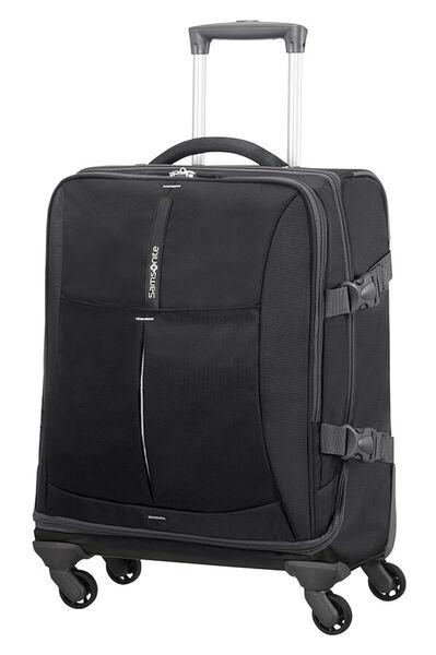 4Mation Bolsa de viaje con ruedas 55cm Black/Silver