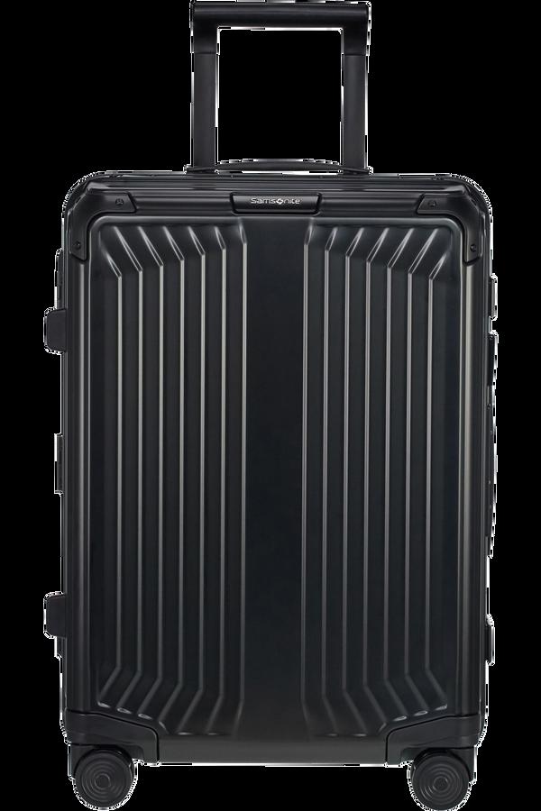 Samsonite Lite-Box Alu Spinner 55cm  Negro