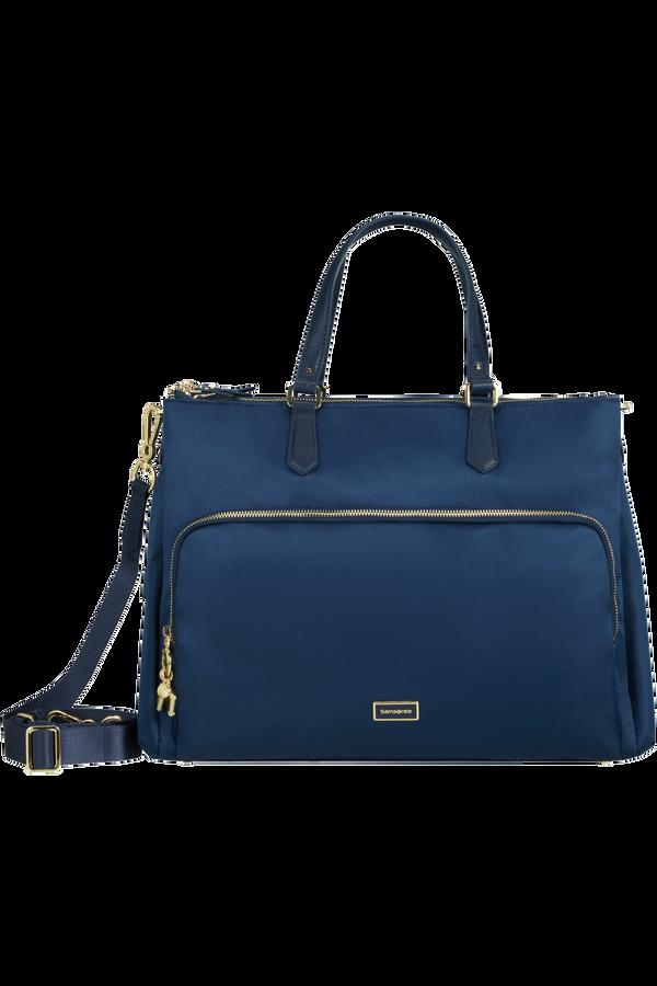 Samsonite Karissa Biz 2.0 Org. Shopping Bag 3 Comp.  14.1inch Midnight Blue