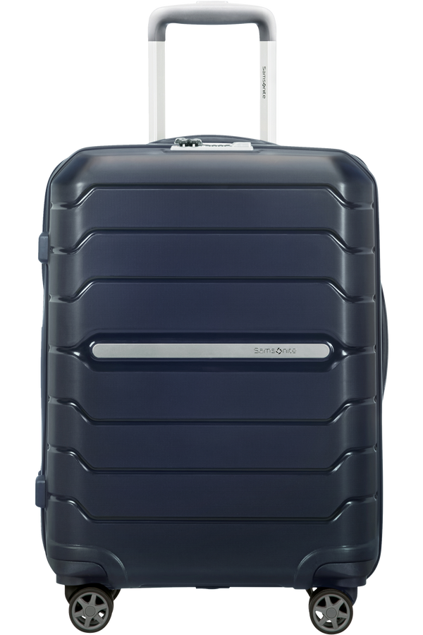 Samsonite Flux Spinner Expansible 55cm Navy Blue