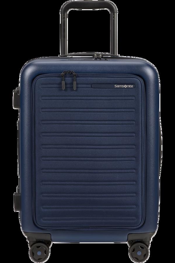 Samsonite Stackd Spinner Expandable Easy Access 55cm  Azul Marino
