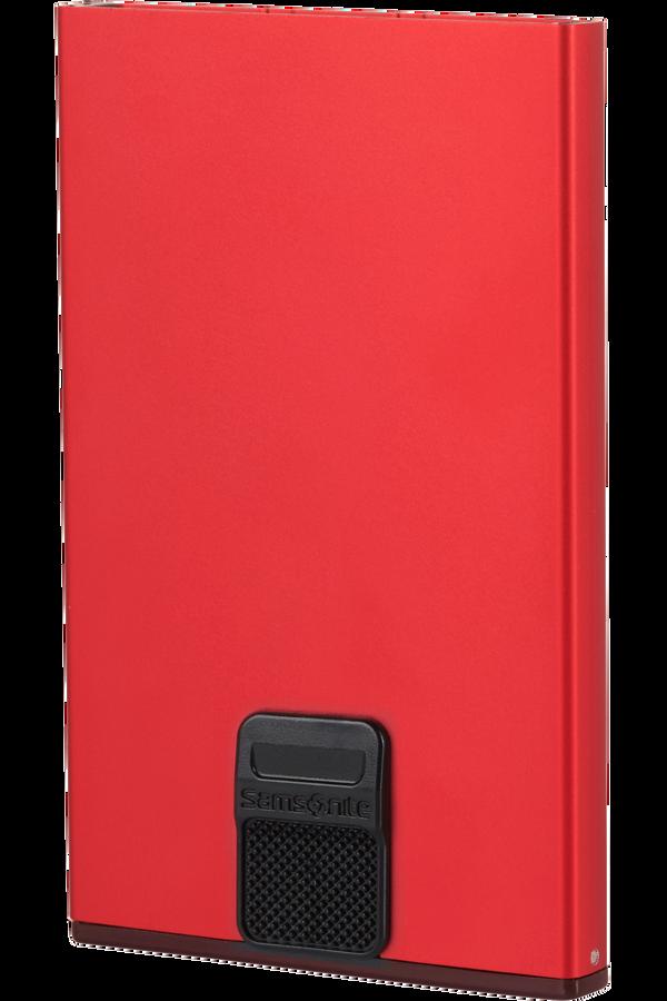 Samsonite Alu Fit 201 - Slide-up Case  Rojo