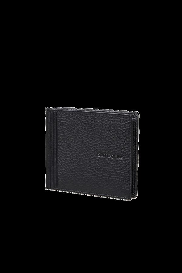 Samsonite Double Leather Slg 001 - B S 6CC+2C  Negro