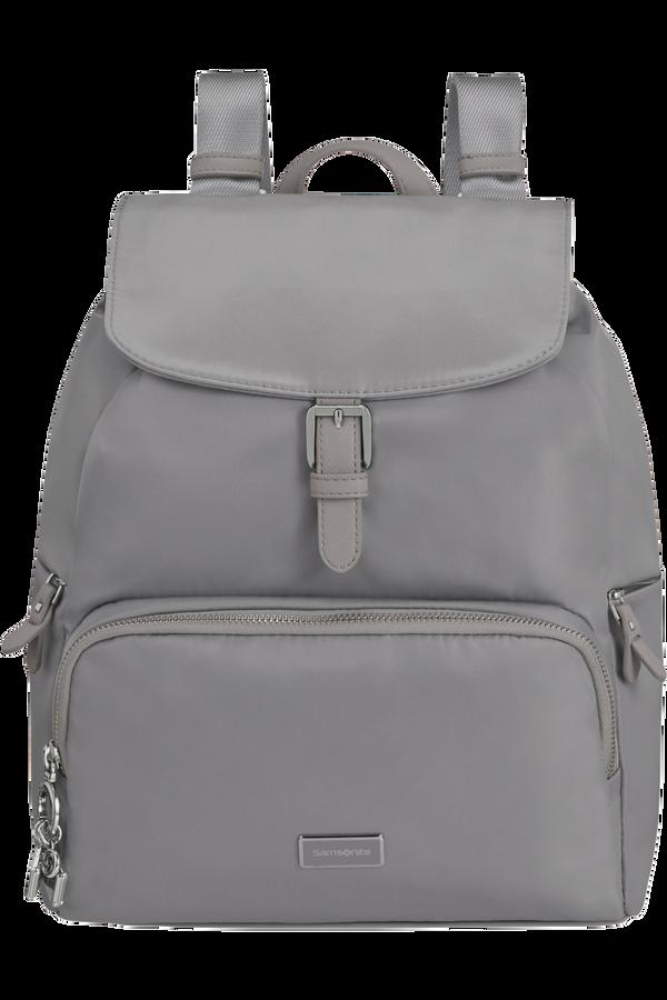 Samsonite Karissa 2.0 Backpack 3 Pockets 1 Buckle  Lilac Grey