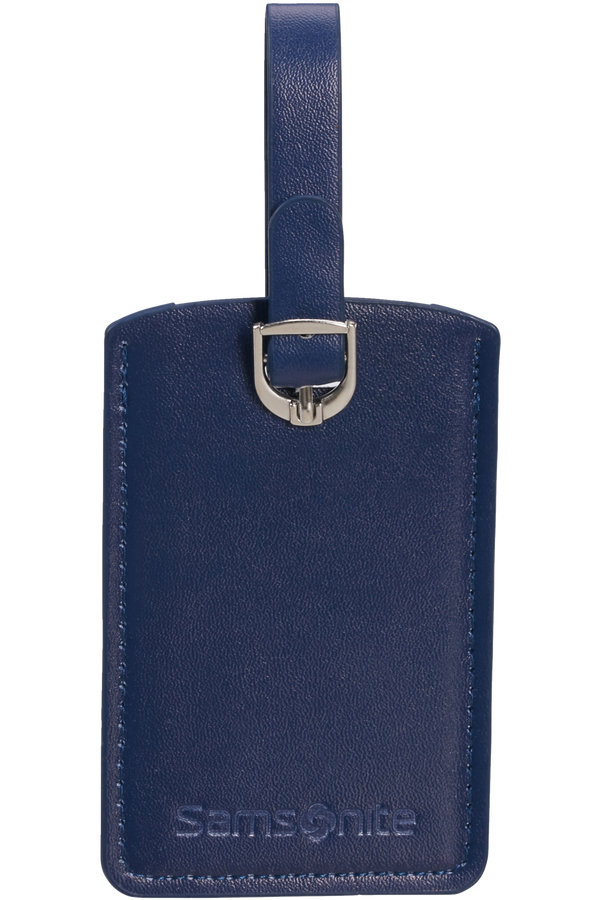 Samsonite Global Ta Rectangle Luggage Tag x2 Midnight Blue