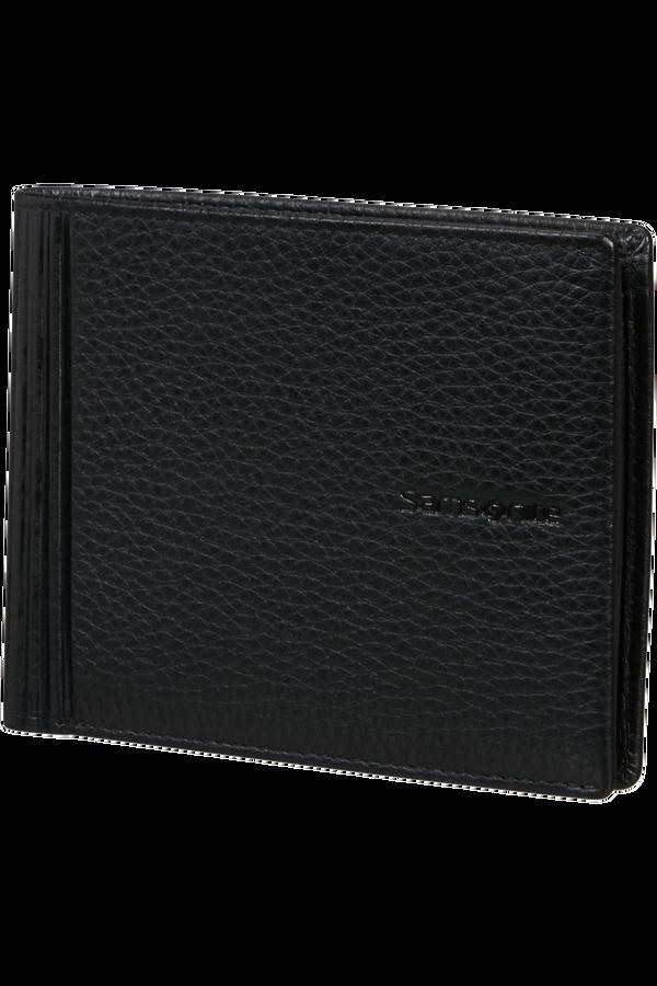 Samsonite Double Leather Slg 015 - B 4CC+2C+C  Negro
