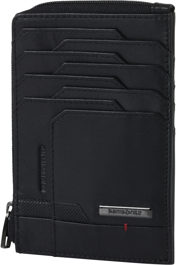 Samsonite Pro-Dlx 5 Slg 727-All in One Wallet Zip  Negro