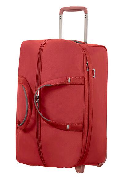 Uplite Bolsa de viaje con ruedas 55cm Rojo