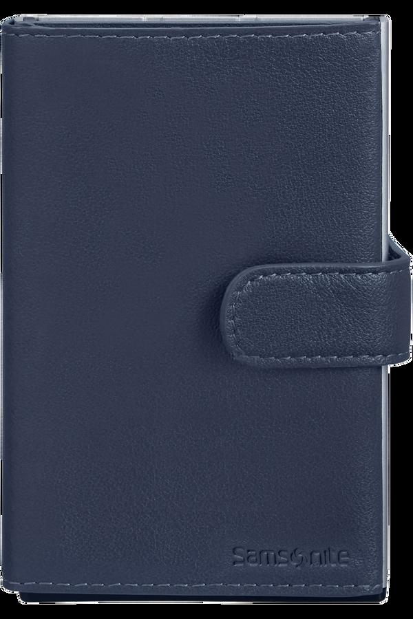 Samsonite Alu Fit 202 - Slide-up Wallet  Azul