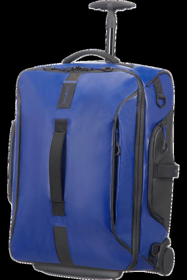 Samsonite Paradiver Light Bolsa de viaje con ruedas 55cm Mochila Azul