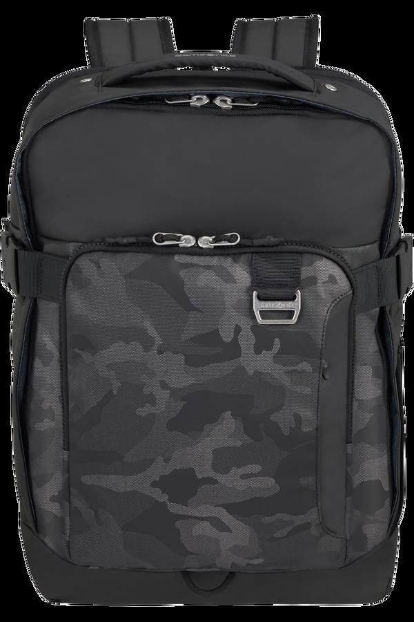 Samsonite Midtown Laptop Backpack Expandable L 15.6inch Camo Grey