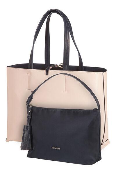 2Ice Bolso shopping Dark Navy/Light Pink
