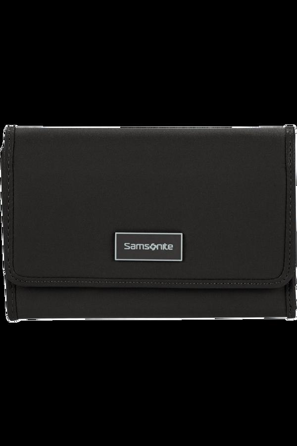 Samsonite Karissa Slg Wallet 12CC+ZIP EXT M  Negro