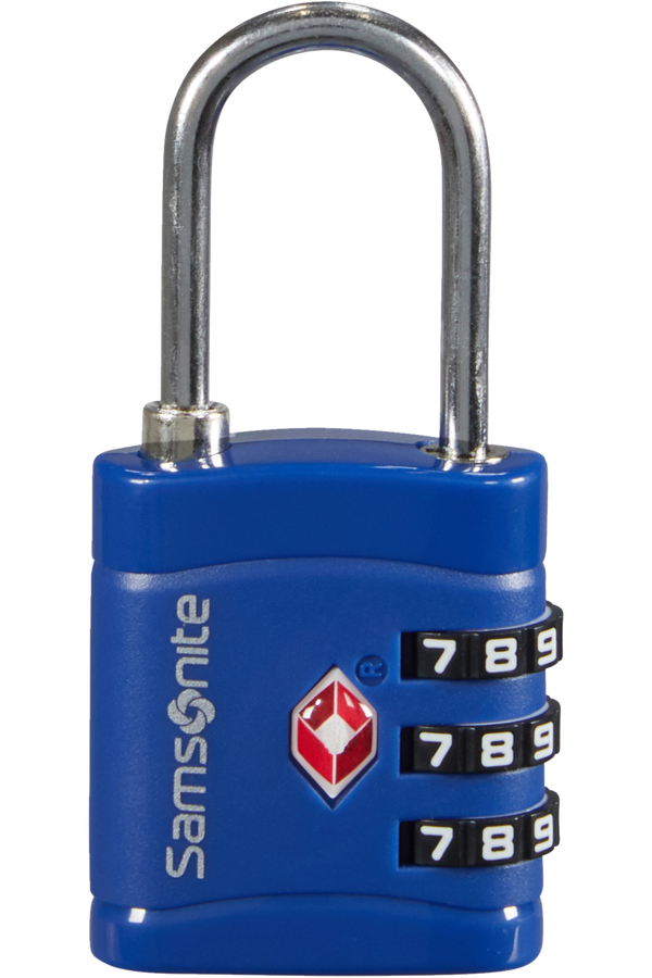 Samsonite Global Ta Combilock 3 dial TSA light Midnight Blue