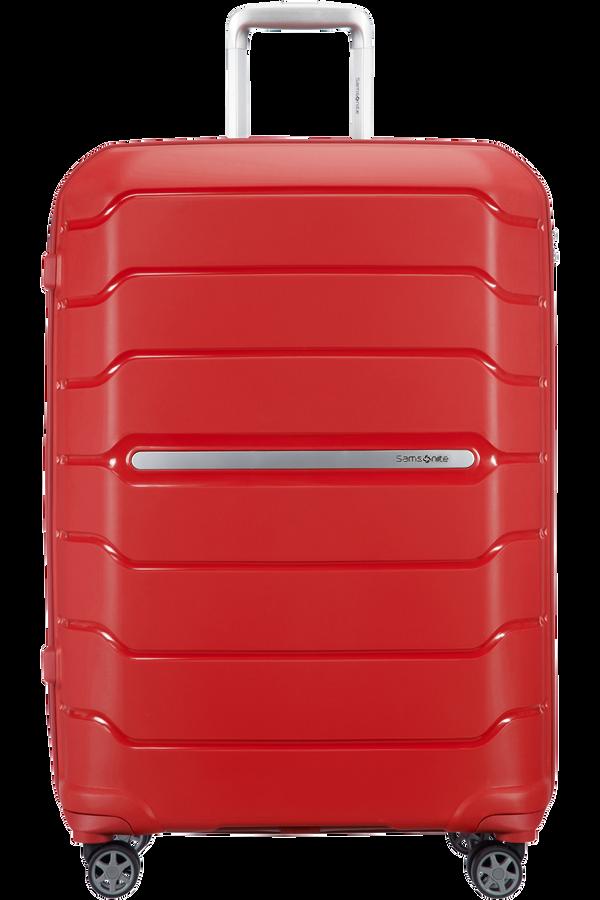Samsonite Flux Spinner Expandable 75cm  Rojo
