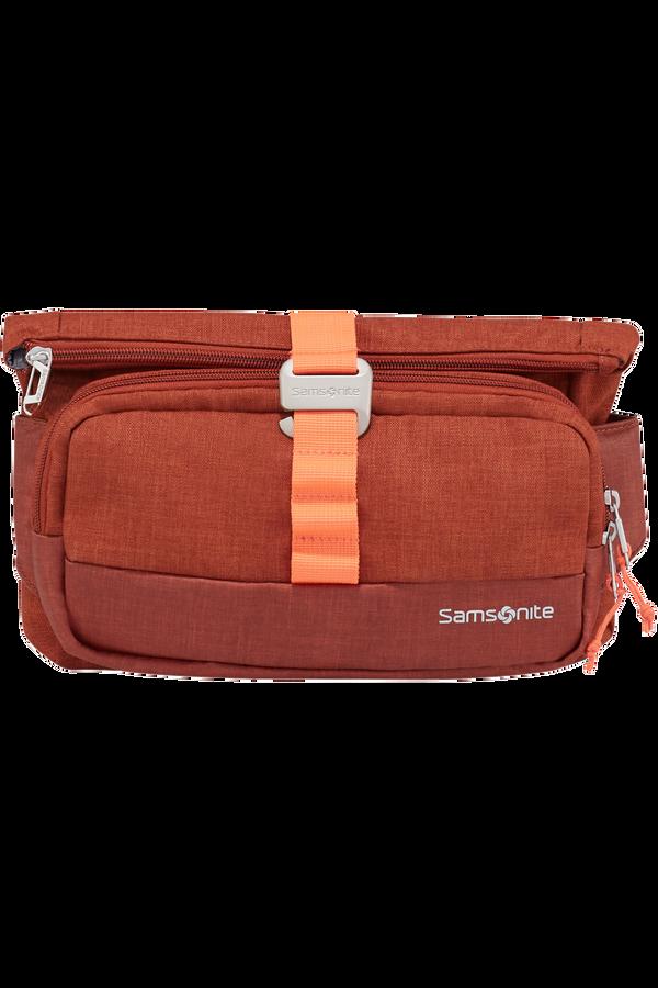 Samsonite Ziproll Belt Bag  Burnt orange