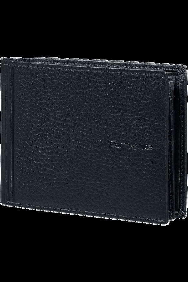 Samsonite Double Leather Slg 007 - B 7CC+VFL+C+2C+W  Negro
