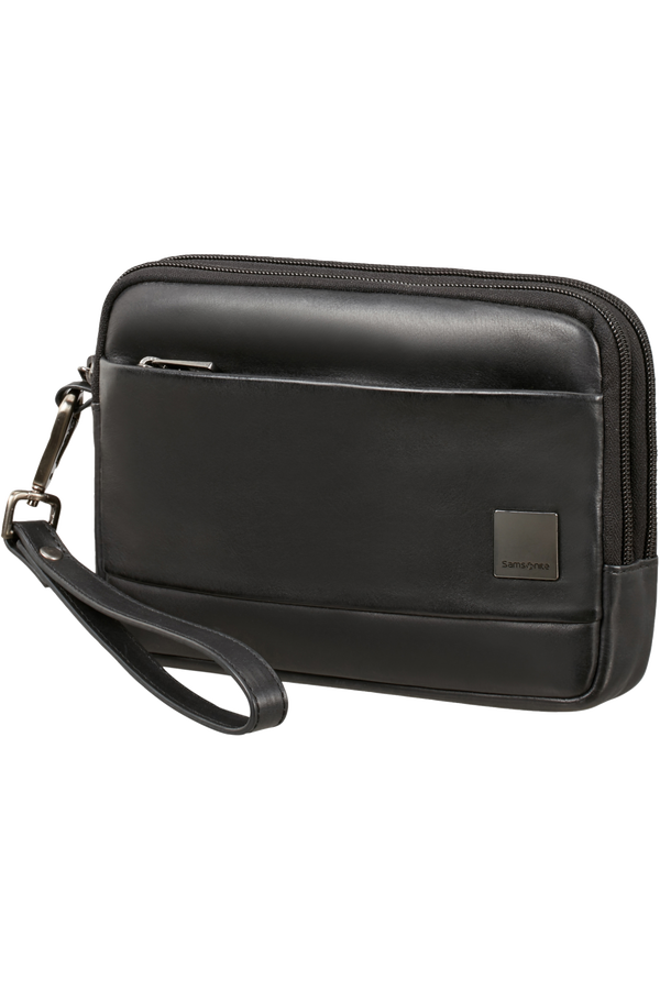 Samsonite Hip-Square Lth Clutch S 2c  Negro