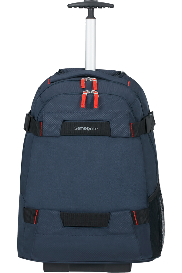 Samsonite Sonora Laptop Backpack with Wheels 55cm 17inch Night Blue