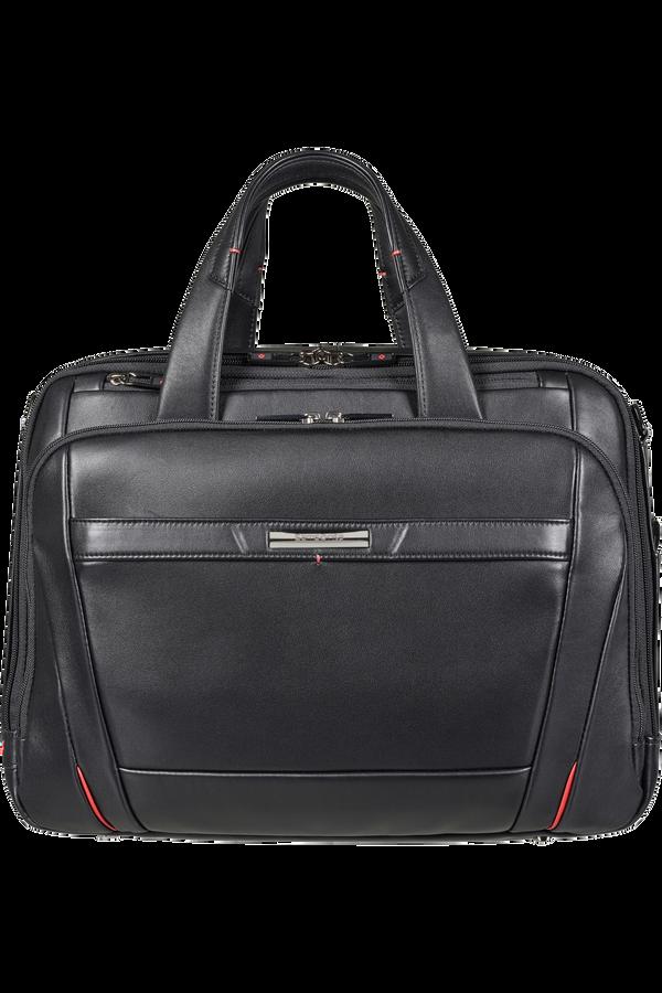 Samsonite Pro-Dlx 5 Lth Laptop Bailhandle Expandable  15.6inch Negro
