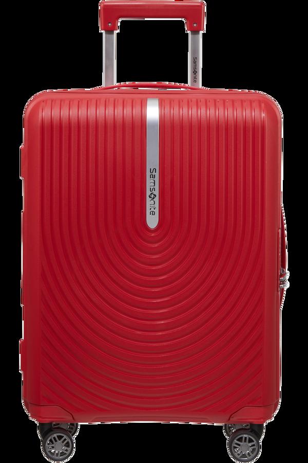 Samsonite Hi-Fi Spinner Expandable 55cm  Rojo