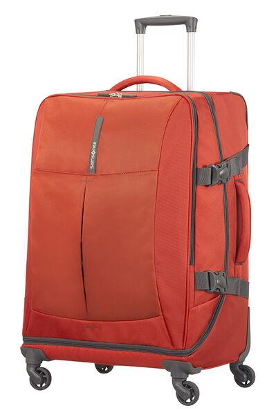 4Mation Bolsa de viaje con ruedas 67cm Red/Grey