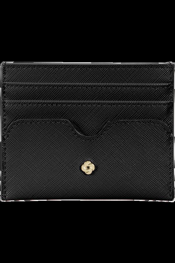 Samsonite Wavy Slg 337 - 6 Credit Card Holder  Negro