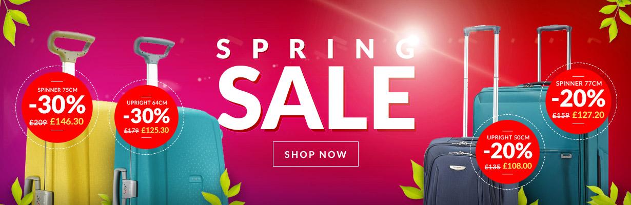 Spring sales UK 2015