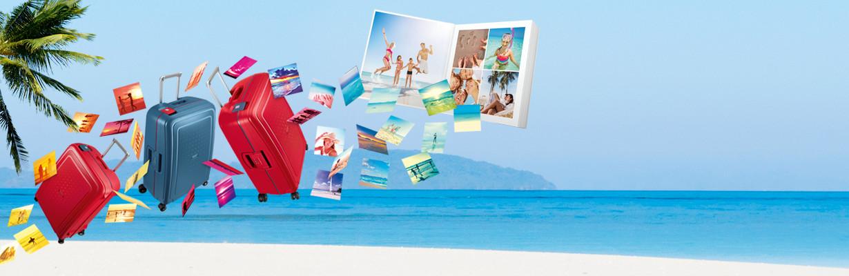 El álbum de fotos de tus vacaciones gratis*