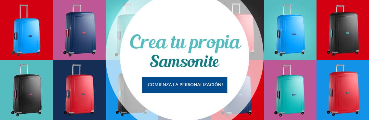 Crea tu propia Samsonite