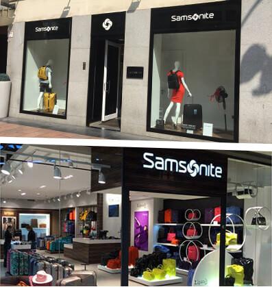 Flagship Store Samsonite Madrid Shopping