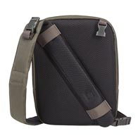 Exclusivo diseño 2 en 1: de una mochila de una correa sobre el hombro a otra cruzando el pecho en un único paso.