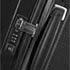 Asas integradas, cerradura® TSA y tirador ergonómico suave al tacto.