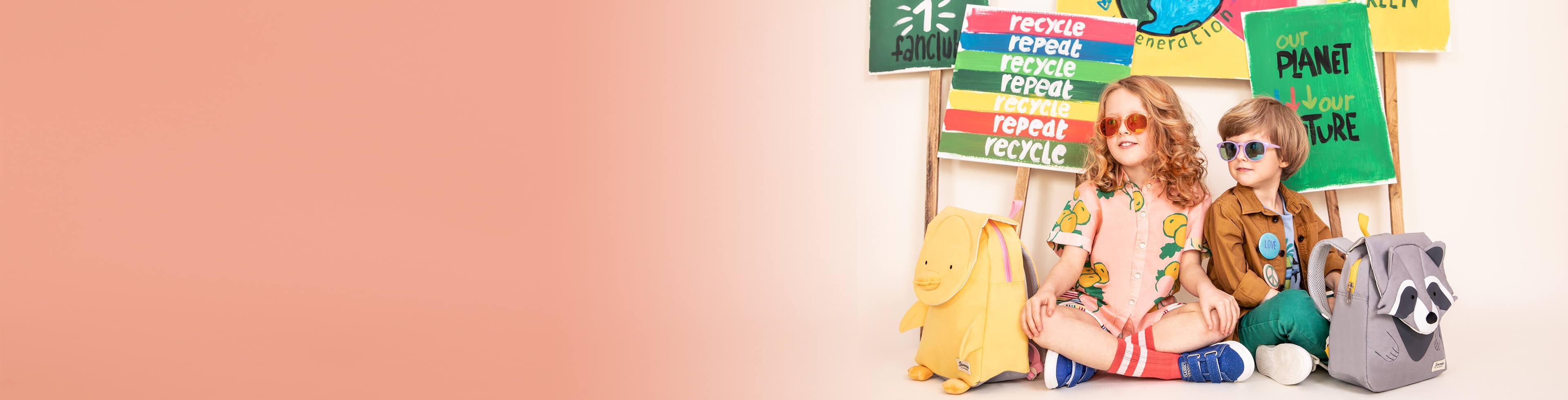 Maletas y mochilas infantiles ecológicos