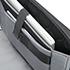 Exclusivo compartimento para portátil Smart Fit, que se adapta fácilmente a diferentes tamaños de portátil.